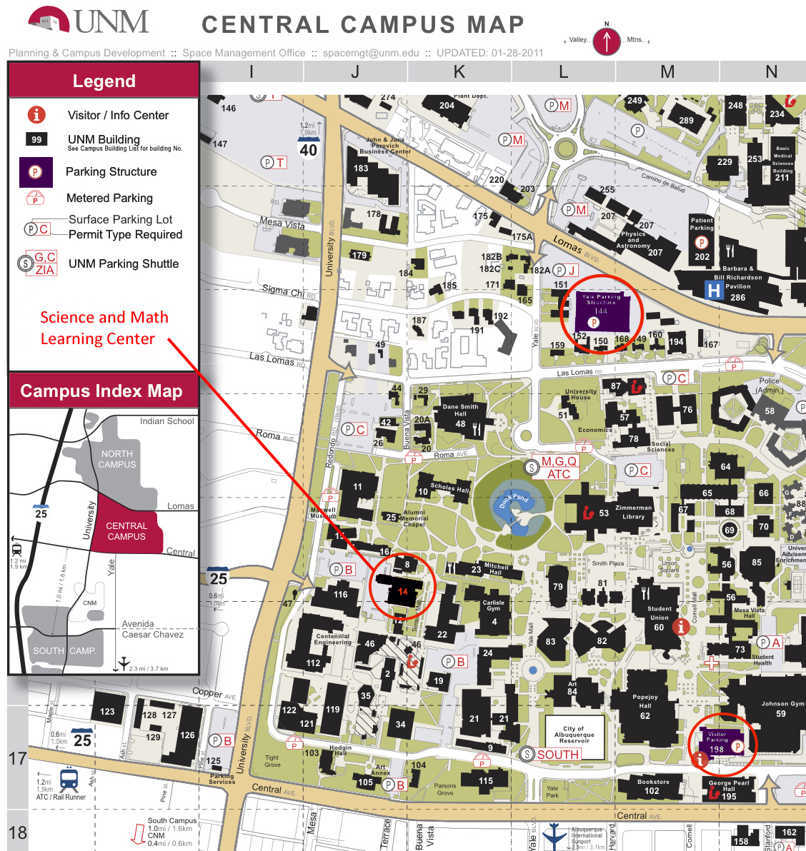 Amazing Unm Campus Map Pictures - Printable Map - New ...